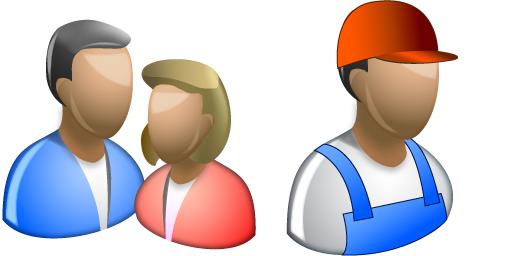 Microsoft Windows 8 People Icons