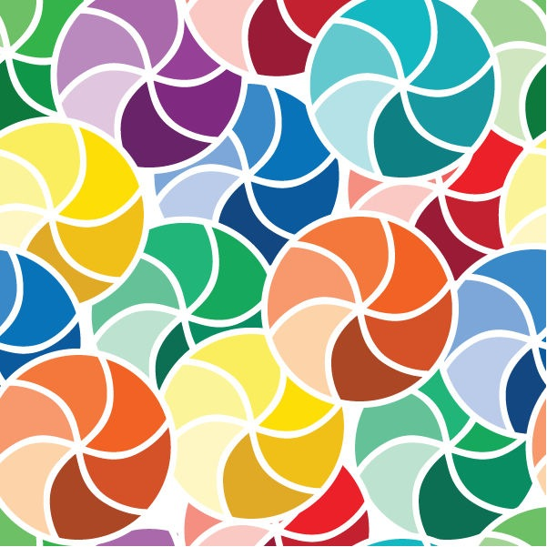 Seamless Abstract Pattern Vector Art