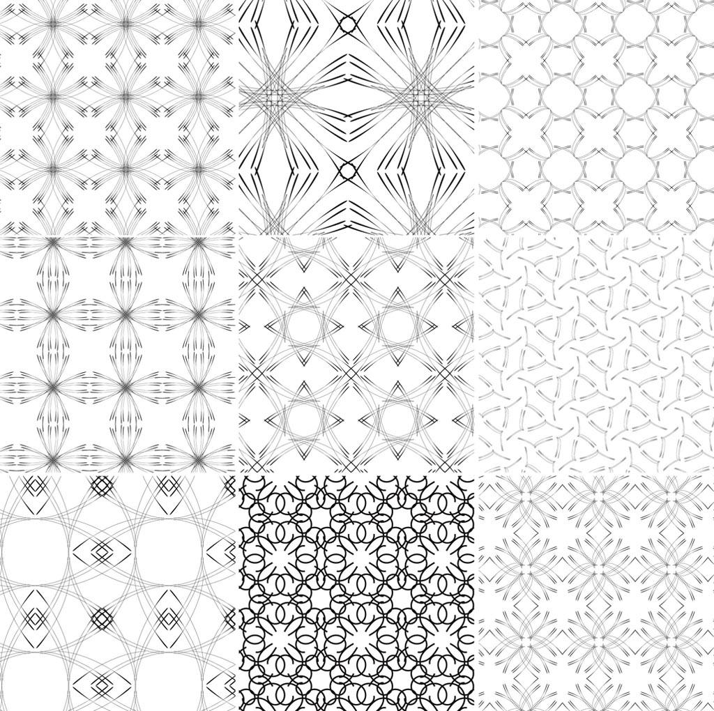 12 Line Design Patterns Images