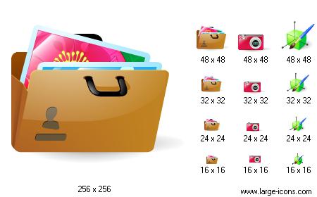 15 Portfolio 3D Free Icon Sets Images
