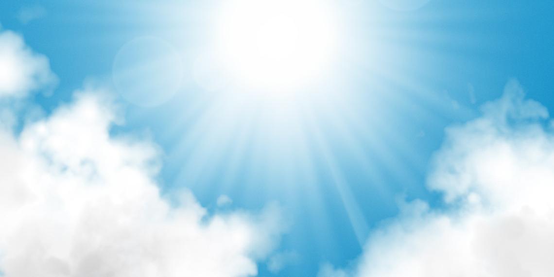 7 Sun Rays PSD Images