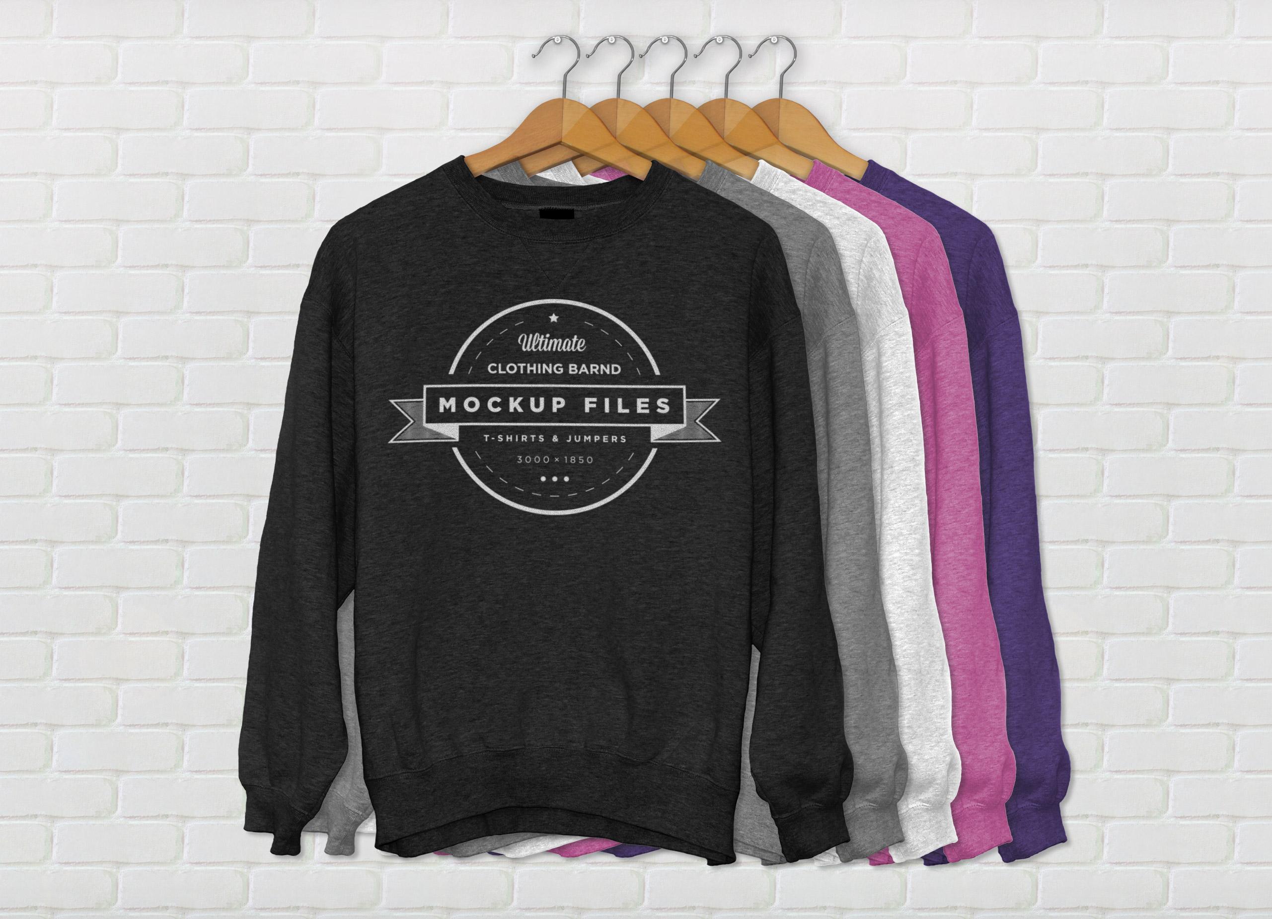 Sweatshirt Mockup Psd Free