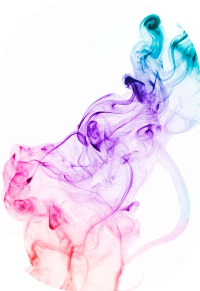 Transparent Purple Smoke