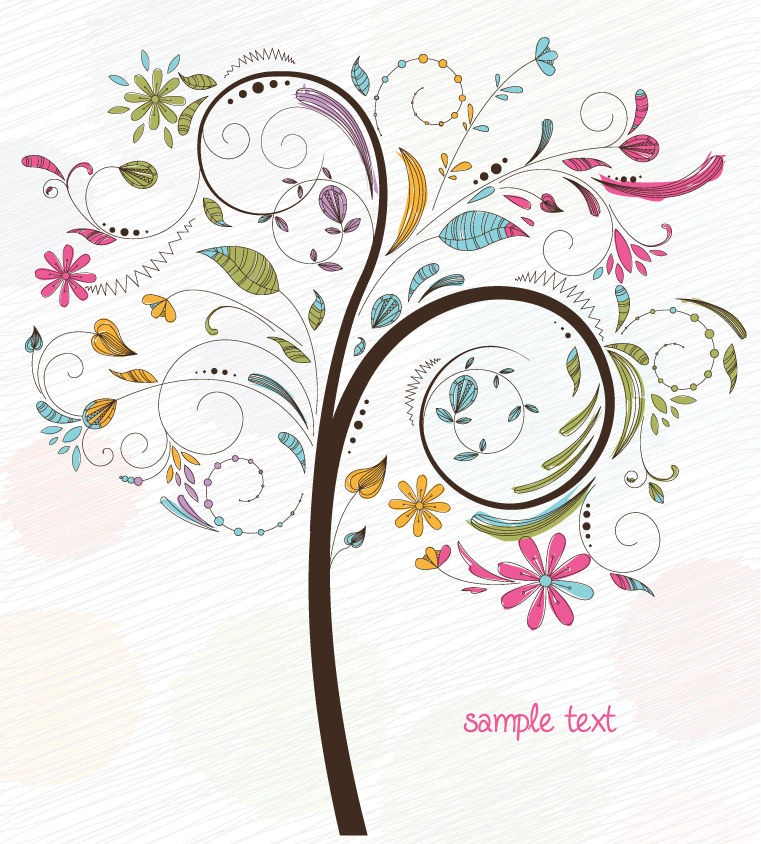 Vector-Free-Tree-Illustration
