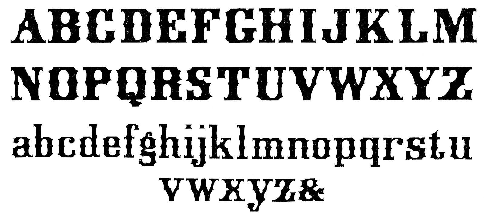 12 Vintage Lettering Fonts Images - Vintage Font Styles ...