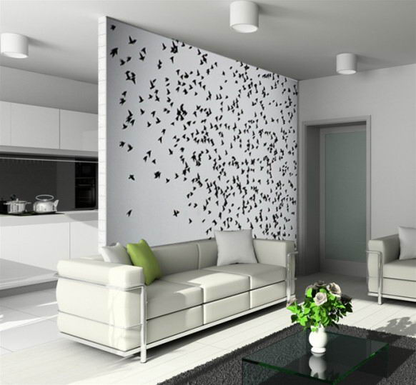 15 Artistic Wall Designs Images