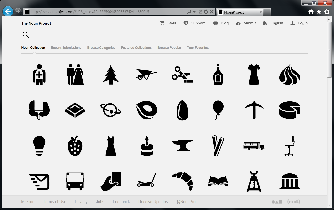 14 XAML Vector Icons Images
