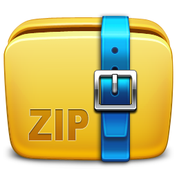 13 Zip Folder Icon Images