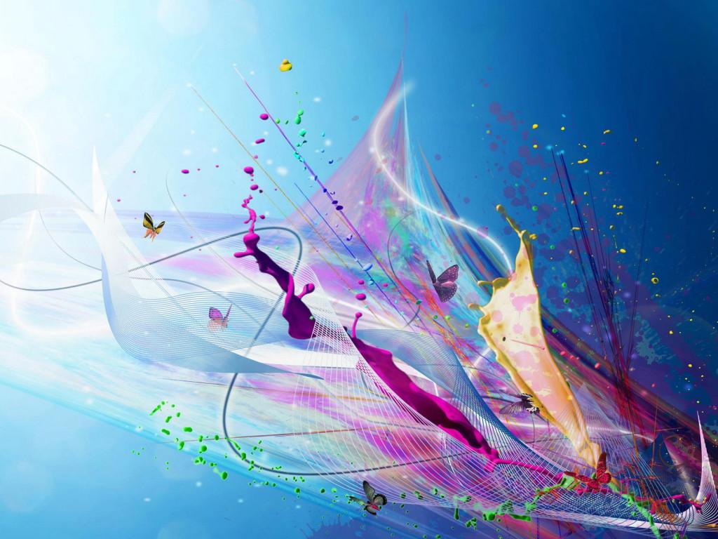 14 Graphic Wallpaper 3D Abstract Art Images