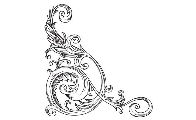 Adobe Illustrator Victorian Vector Ornaments Pack