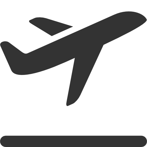 15 Flat Airplane Icon.png Images