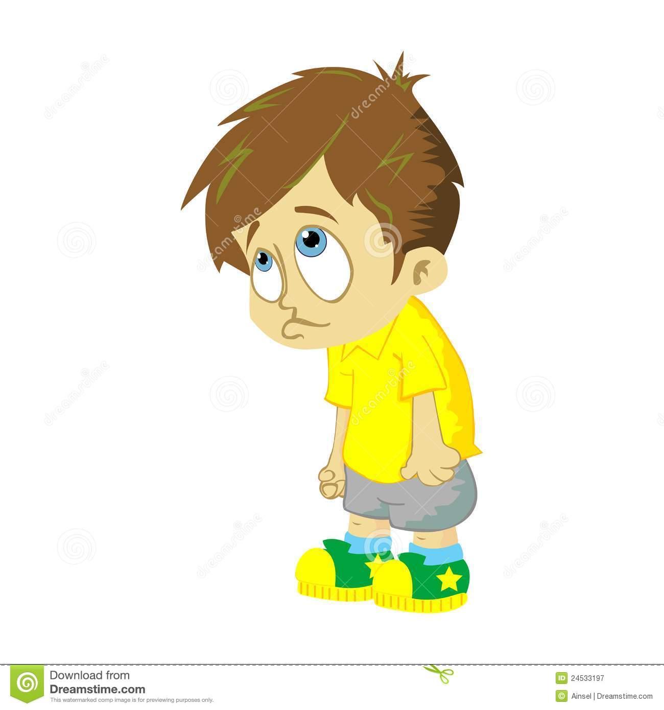 Alone Sad Boy Clip Art