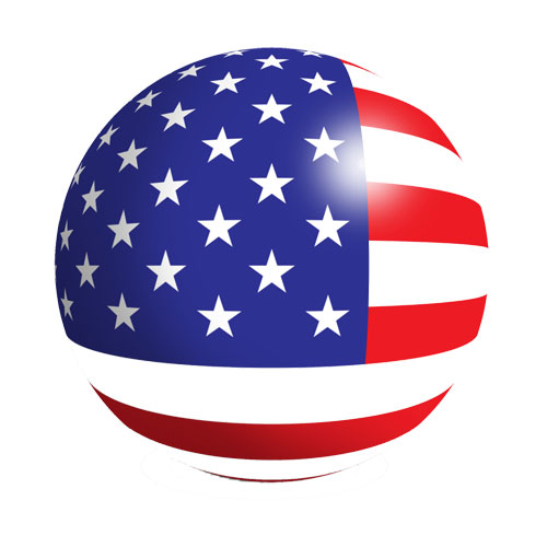 American Flag Vector Icon Free