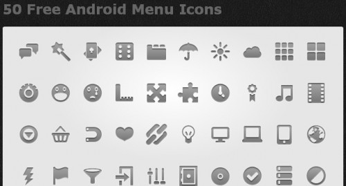 Android Icon Sets Free