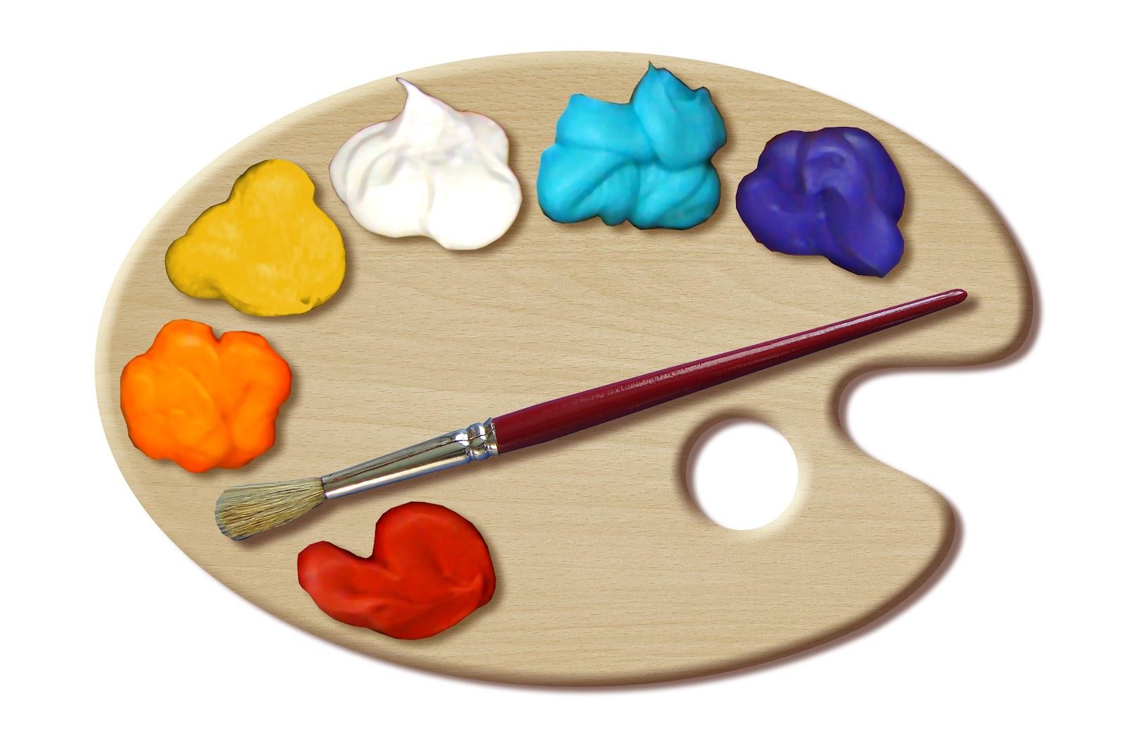 12 Paint Palette Vector Images