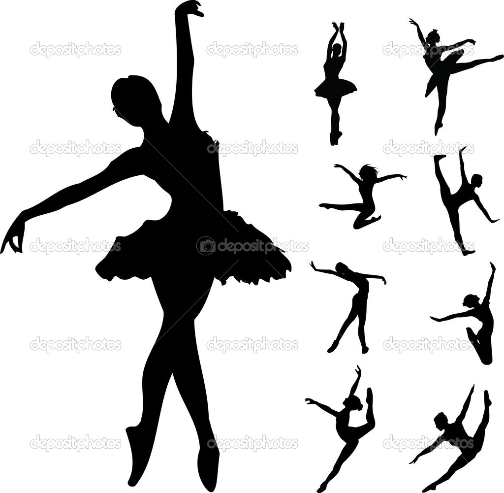 12 Pics Of Dancers Praise Vector Images - Dancing People ...
