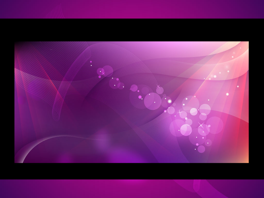 Beautiful Abstract Purple
