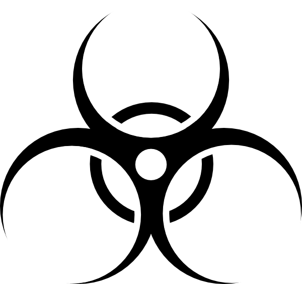 Biohazard Symbol Clip Art