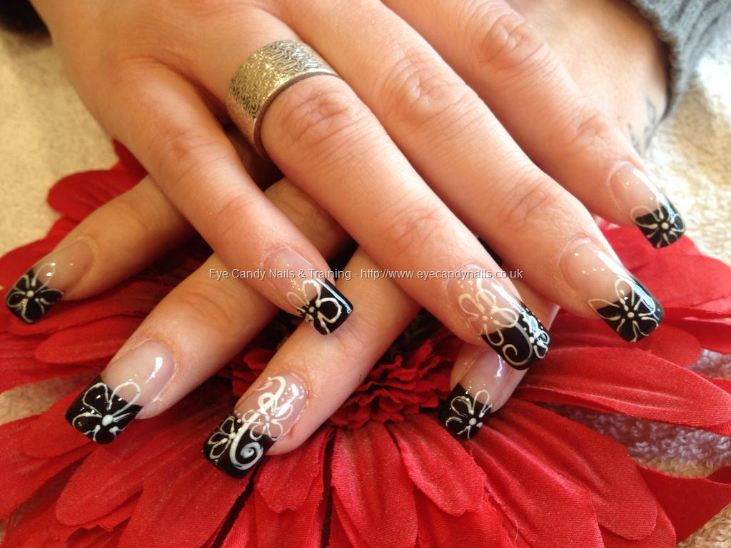 Black Nail Art Tips