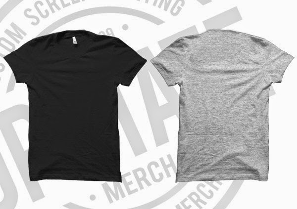 Black T-Shirt Mockup Templates