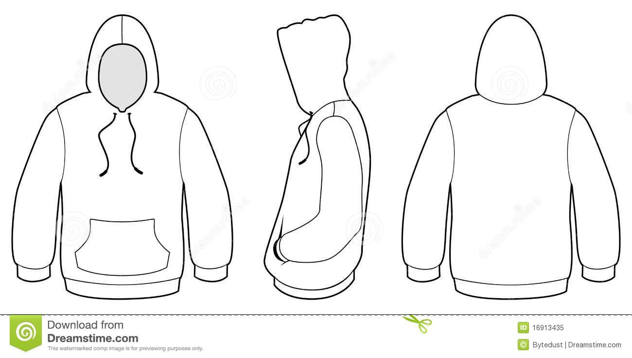Blank Sweater Template