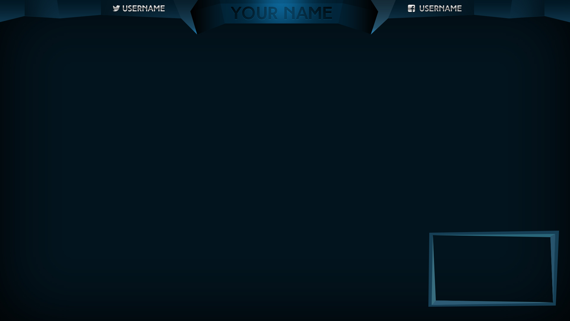 12 stream overlay psd images blank twitch stream overlay for Free twitch overlay template