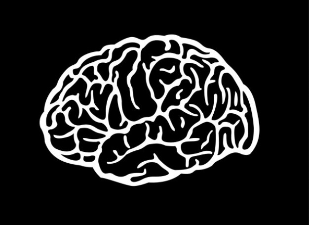 16 free vector brain images brain silhouette vector free