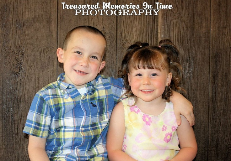 Brother and Sister Photo Shoot Idea