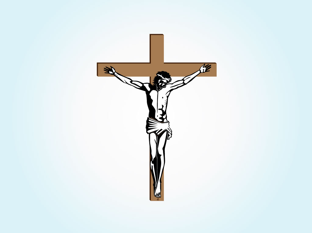 Christian Cross Vector Art