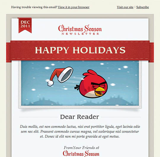 Christmas Emailtemplates