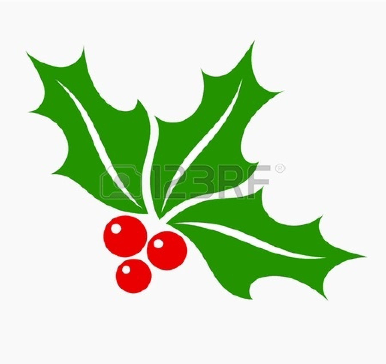 free xmas clipart holly - photo #11