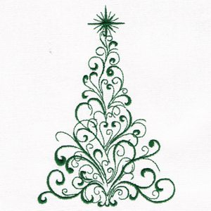 Christmas Tree Embroidery Designs Free