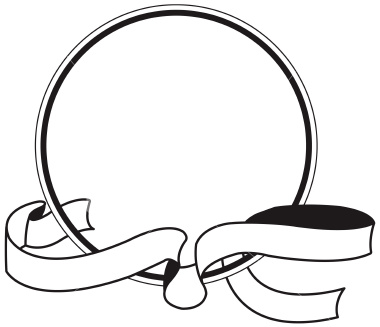 Circle Logo with Ribbon
