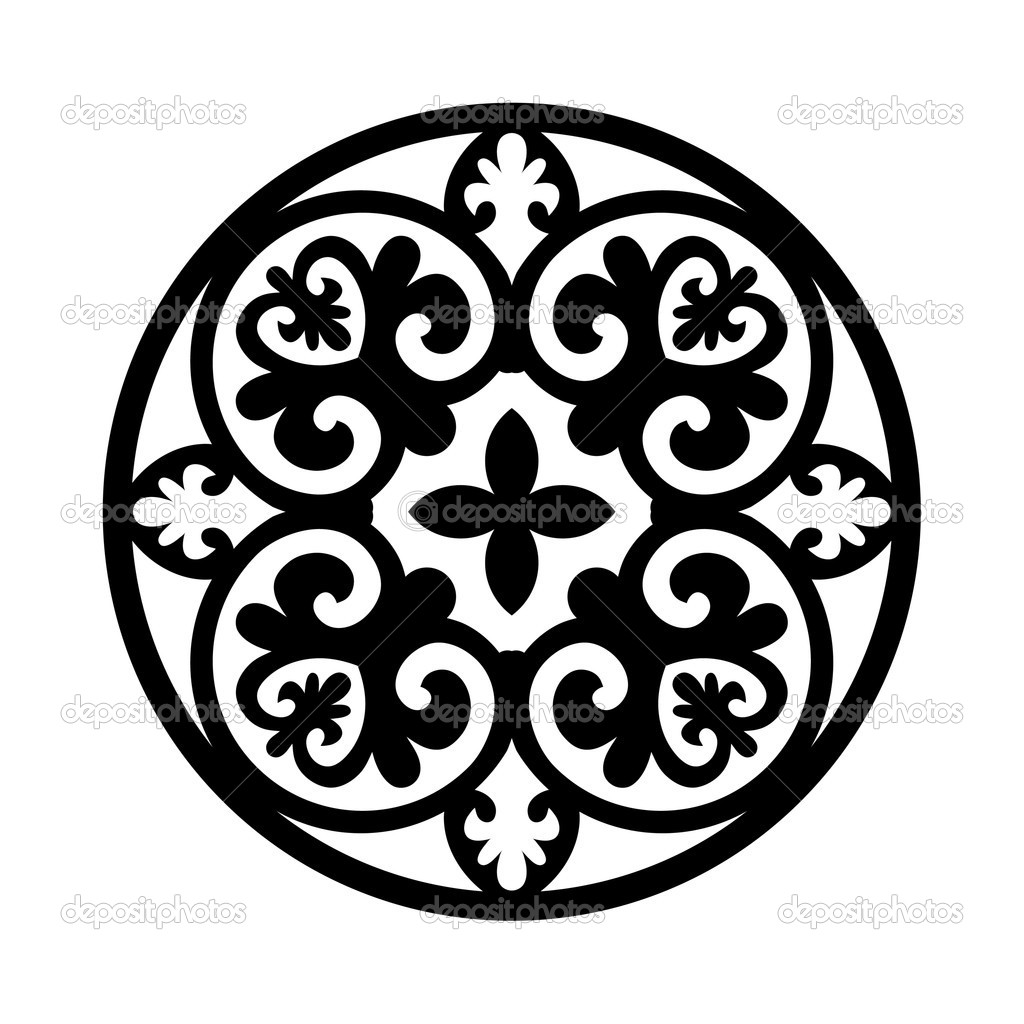 19 Circular Designs Vector Images - Floral Vector Circular ...