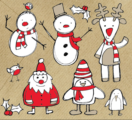 Cute Christmas Drawings