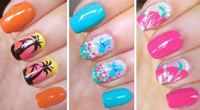 Cute Easy Nail Designs Step by Step