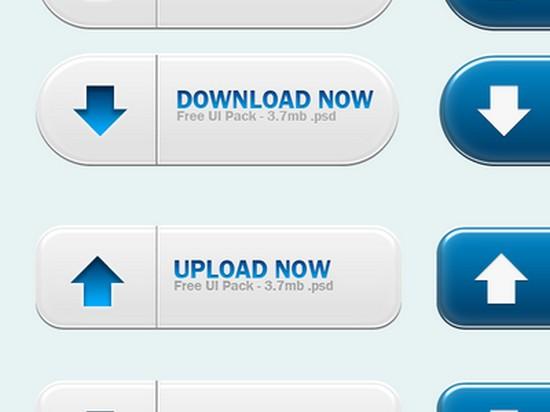 De-Emphasized UIButton Download