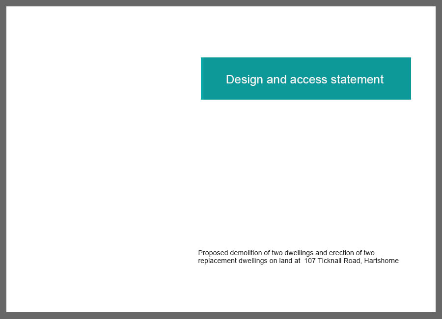 design statement example