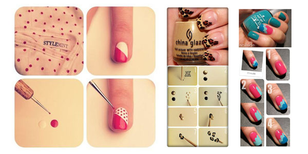 17 Cute And Easy Nail Designs Step By Step Images - Cute Easy Nail ...