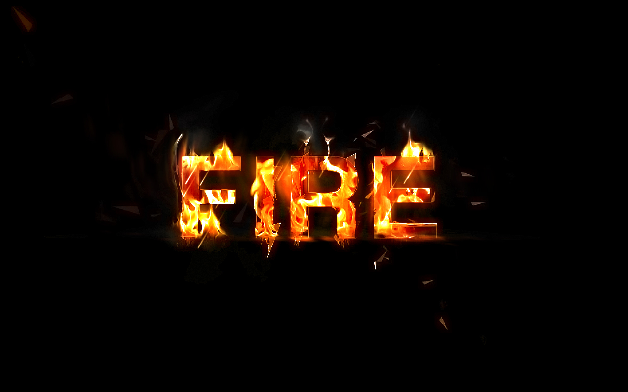 15 Flame Writing Font Images