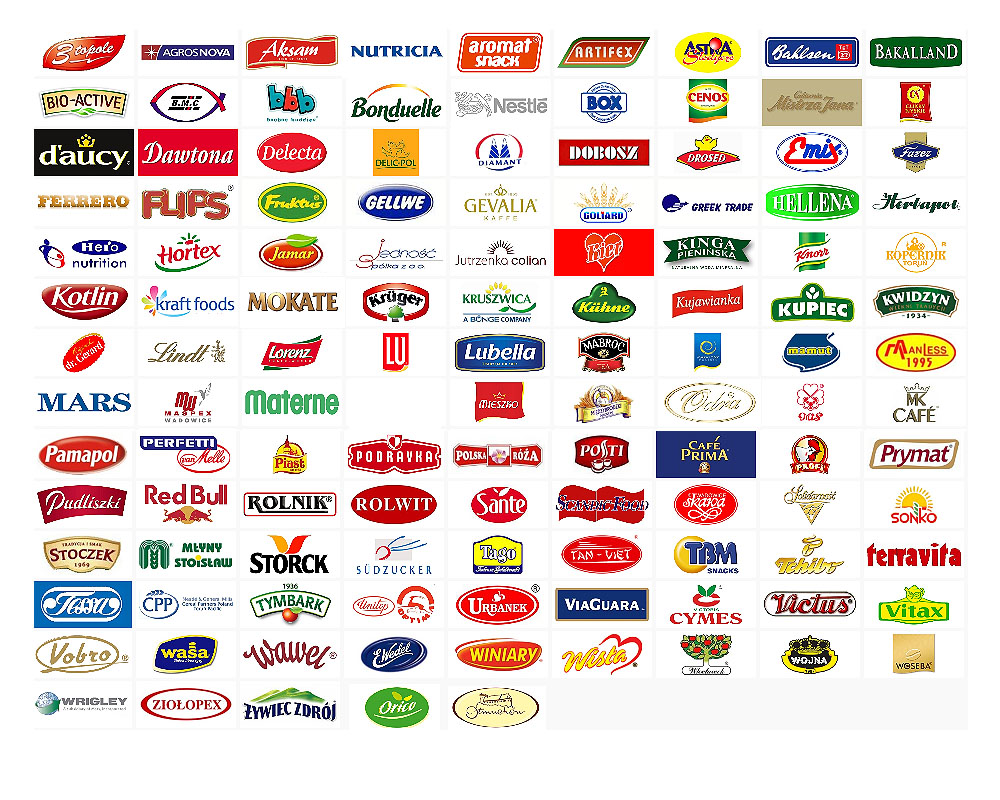 18 Grocery Products Icon Images