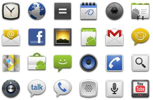 Free Android App Icons