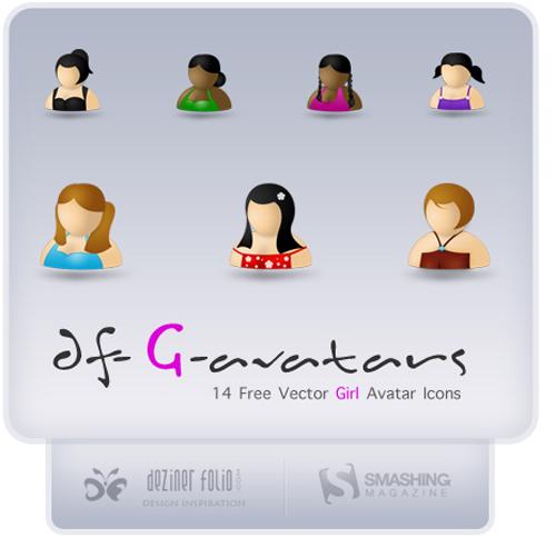 Free Avatars Icons Female