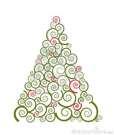 Free Christmas Tree Silhouette