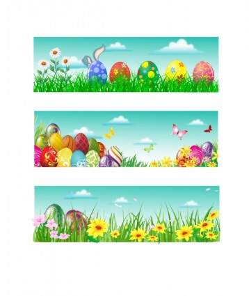 14 Free Vector Easter Banner Images