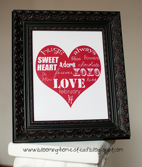 Free Printable Valentine's Day Art
