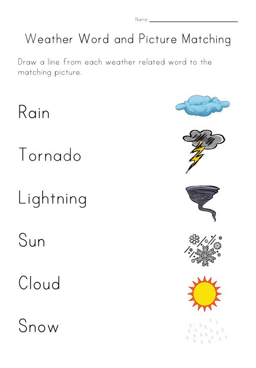 Worksheets Weather Worksheet severe weather worksheet joomlti 11 printable bad icons images symbols for kids