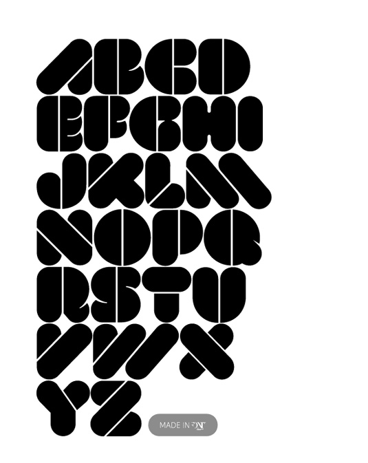 11 Cool Bold Fonts Images - Cool Bold Letter Fonts, Cool