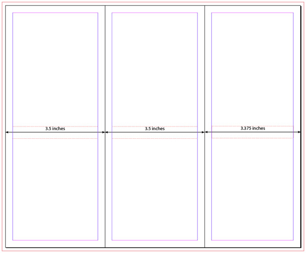12 Tri-Fold Brochure InDesign Template Images