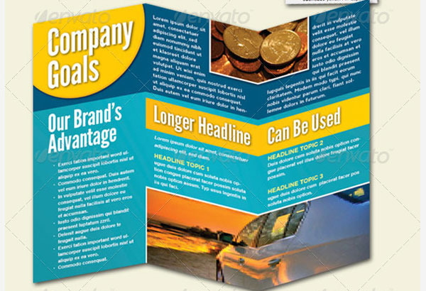 12 Tri-Fold Brochure InDesign Template Images - Free Tri